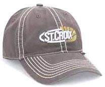 St. Croix CSTCG Grey Logo Cap