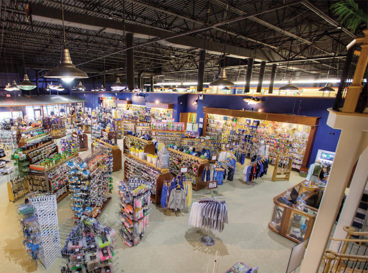 A picture of the TackleDirect retail store
