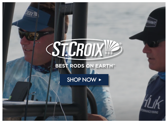 Shop St. Croix Fishing Rods & Apparel