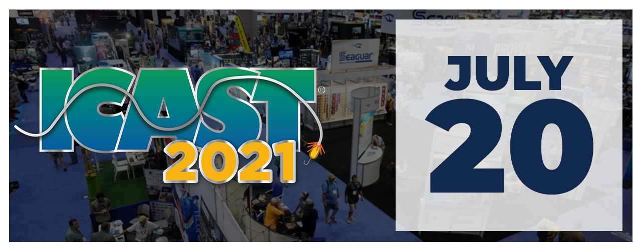 Upcoming Event - ICAST - July 20, 2021