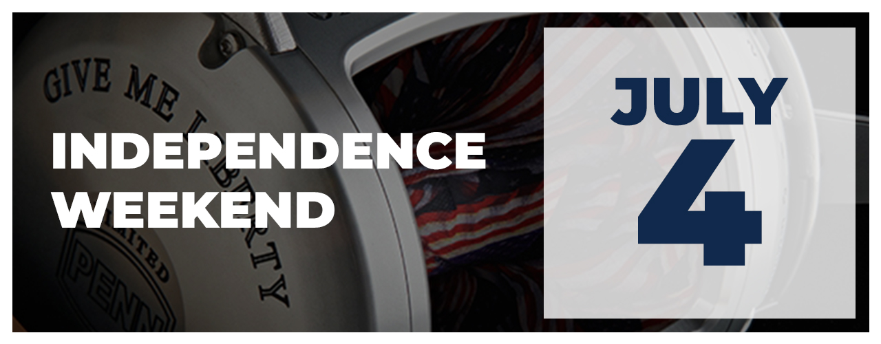 Upcoming Event - Independence Weekend - July 4, 2021