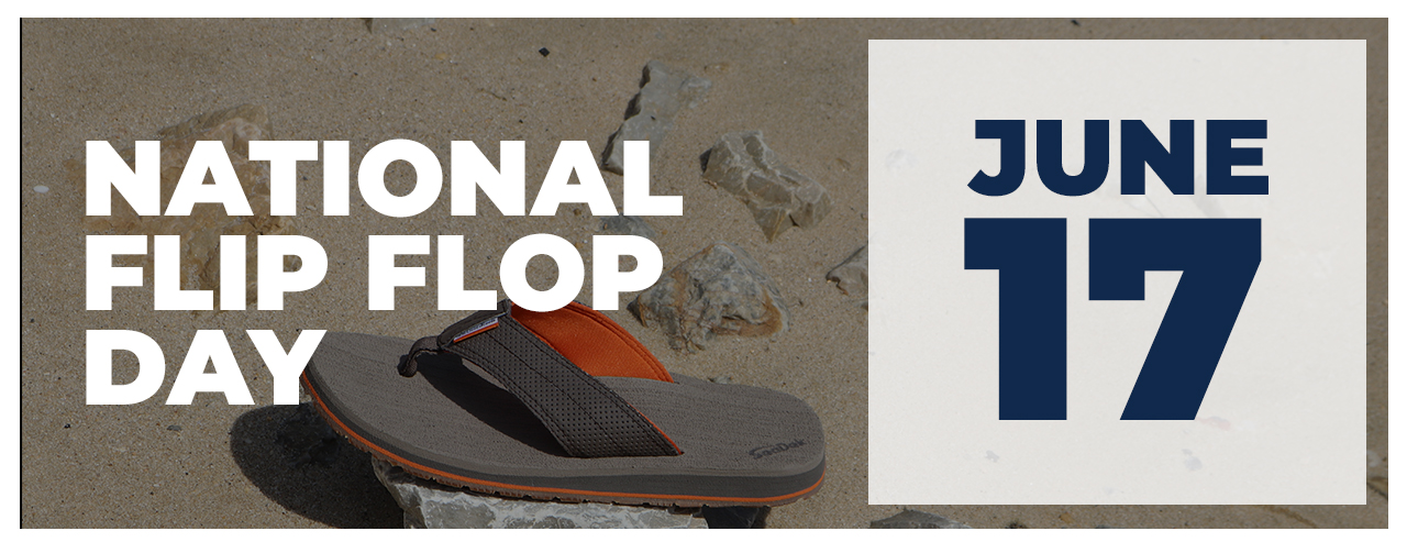 Upcoming Event - National Flip Flop Day - June 17, 2021