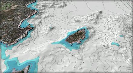 Navionics Platinum Satellite Overlay