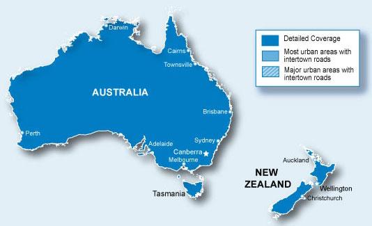 Garmin City Navigator Australia & New Zealand